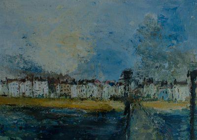 Deal in Kent Painted from the Pier Mandy Selhurst Artist