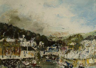 Polperro Cornwall Mandy Selhurst Artist