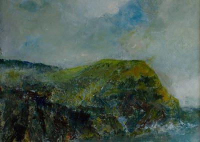 Golden Cap on the Jurassic Coast in Dorset Mandy Selhurst Artist