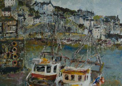 Mevagissey Cornwall Mandy Selhurst Art