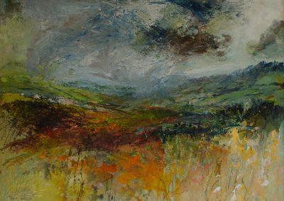 Exmoor from Dunkery Beacon looking East